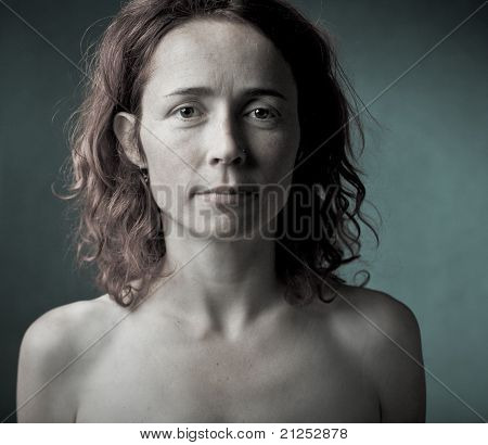Innocent looking girl