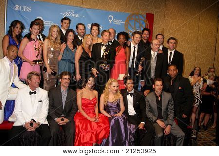 LAS VEGAS - JUNE 19:  Bold & Beautiful Cast, Producers, Brad Bell in the Press Room of the  38th Daytime Emmy Awards at Hilton Hotel & Casino on June 19, 2010 in Las Vegas, NV.