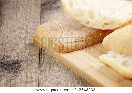 Bun On Cut Board
