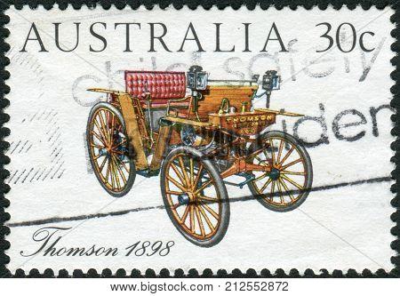 Australia - Circa 1984: Postage Stamp Printed In Australia, Shows Australian-made Vintage Cars: Thom