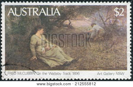 Australia - Circa 1981: Postage Stamp Printed In Australia, Shows A Picture Of