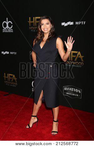 LOS ANGELES - NOV 5:  Eva Longoria at the 2017 Hollywood Film Awards at Tao on November 5, 2017 in Los Angeles, CA