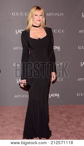 LOS ANGELES - NOV 4:  Melanie Griffith at the LACMA: Art and Film Gala at the Los Angeles County Musem of Art on November 4, 2017 in Los Angeles, CA