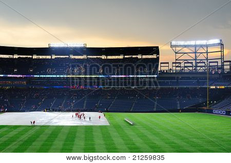 Rainout At Turner Field