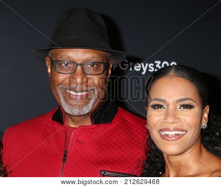 LOS ANGELES - NOV 4:  James Pickens Jr, Kelly McCreary at the