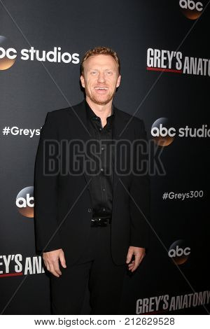 LOS ANGELES - NOV 4:  Kevin McKidd at the
