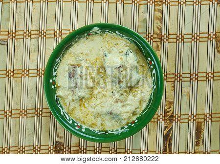 Macha Besara Curry
