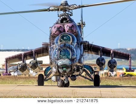 Mil Mi-35 Hind Attack Helicopter