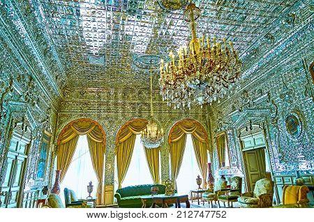 Hall Of Brilliance, Golestan, Tehran
