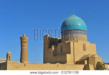 Bukhara: view of Kalyan mosque and minaret