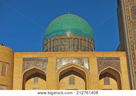 Bukhara: view of the Mir i Arab madrese