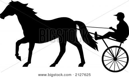 Horse Race Vector Photo Free Trial