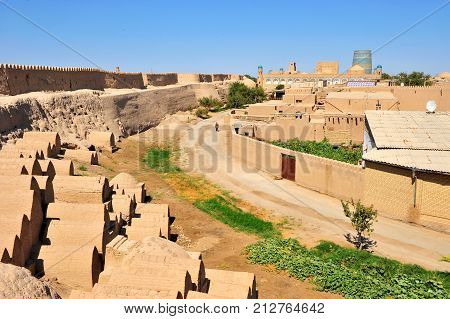Khiva: the small historical town in Uzbekistan