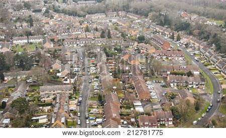 Yateley From The Air
