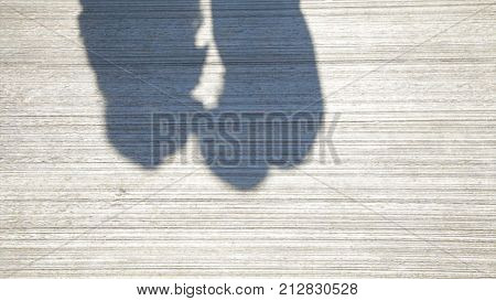 Couple Kissing Shadow. Shadows Of Lover Bride And Groom On White Wall. Couple Kissing Shadow Hd