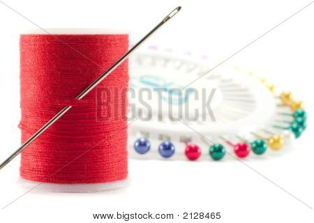 Needle And Cotton.