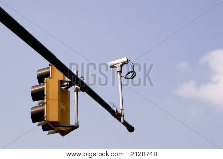 Traffic Camera And Lights