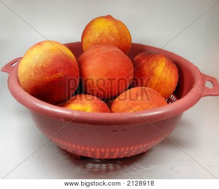 Colander Of  Peaches