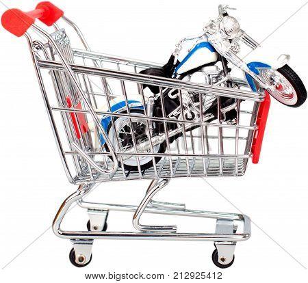 Shopping cart cart shopping toy motorcycle motorcycle buying motorcycle buyer motorcycle