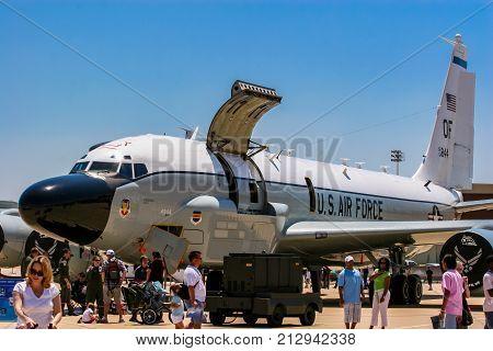 Boeing Rc-135 Rivet Joint Reconnaissance Aircraft