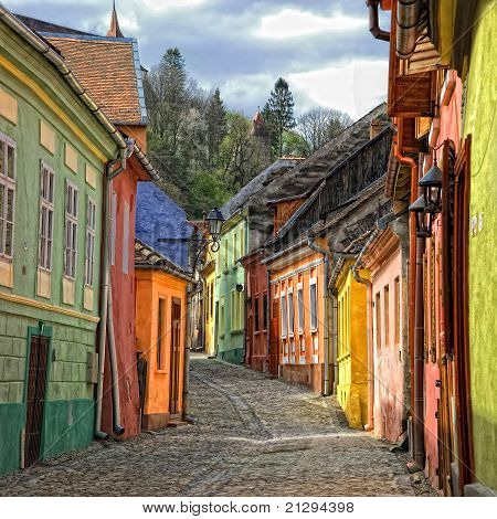 Street of Sighisoara