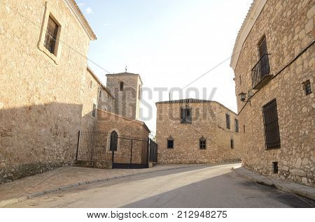 Stone Buildings In Belmonte