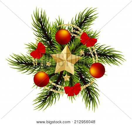 Wreath Realistic Vector & Photo (Free Trial)   Bigstock