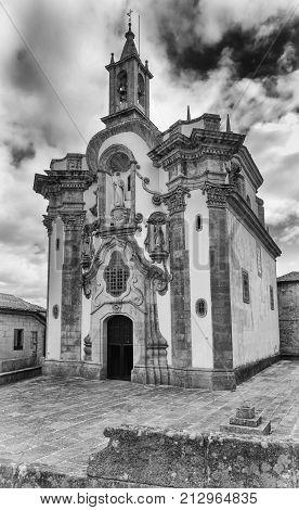 Church San Telmo, Tui, Camino de Santiago, Spain