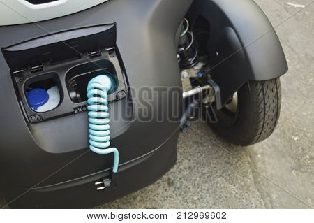 electric car, loader