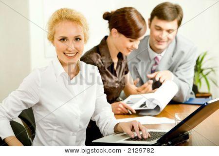Attraente Office Worker