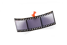 Film With Red Pin