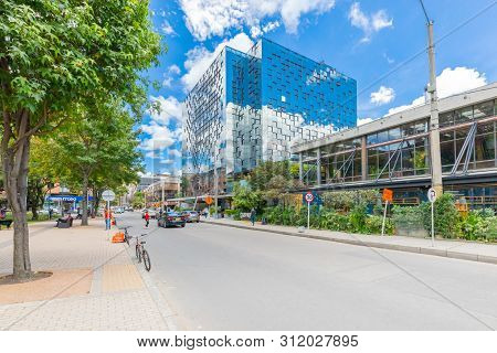 Bogota, July 6  Qbo Building Of Bogota Located In The Newest Area Of Bogota Houses The Biggest Comme