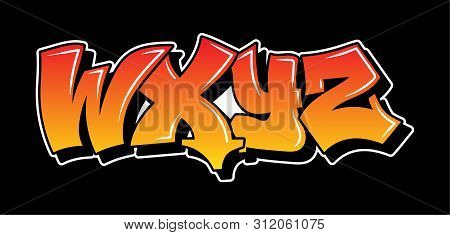 Some Part Of The Letters Graffiti Inspiration From Alphabet Decorative Lettering Vandal Street Art F