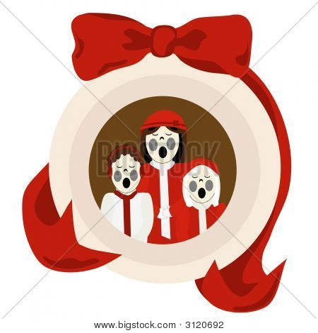 Christmas Carolers Ornament