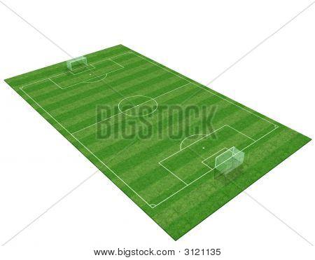 3D Soccer Field