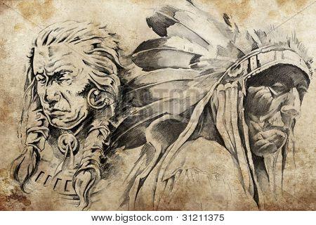 Indias Americanas En Lapiz Www Imagenesmy Com