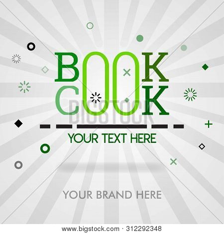 Cookbook Cover Page. Cookbook Banner For Website.american Cookbook In Best Sale. Can Be For Promotio