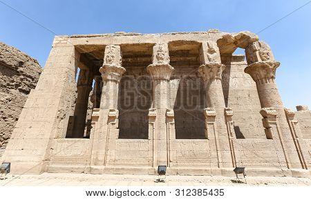 Building In Edfu Temple, Edfu, Egypt