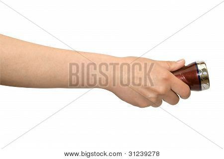 Hand With Small Torch