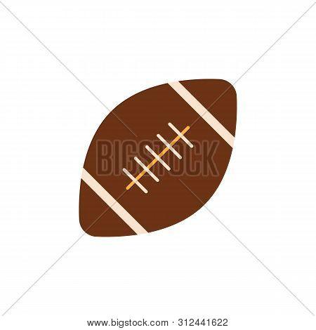 American Football Colored Icon. Element Of Education Illustration Icon. Premium Quality Graphic Desi
