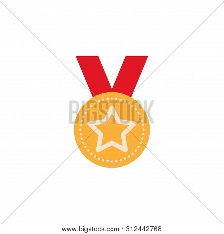 Medal Colored Icon. Element Of Education Illustration Icon. Premium Quality Graphic Design. Signs An