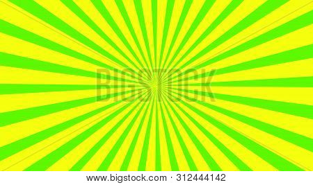 Green Yellow Spiral Background. Green Yellow Background. Green Yellow Vector Background.green Yellow
