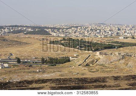 Amman City - Jordan, Amman, The Capital Of Jordan, Is A Houses City