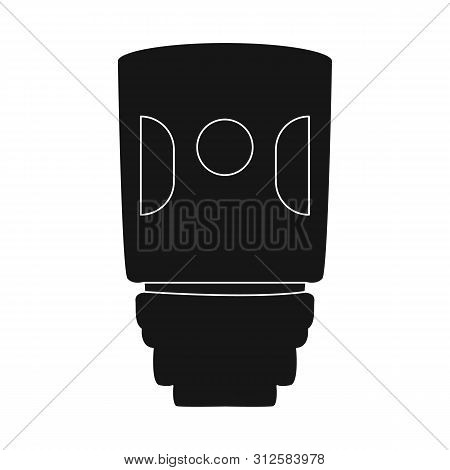 Vector Illustration Of Vaporizer And Vape Symbol. Set Of Vaporizer And Vapor Stock Vector Illustrati