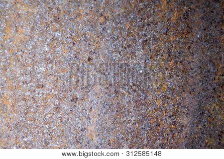Rusty Metal Background With Streaks Of Rust. Rust Stains. The Metal Surface Rusted Spots.metal Rust