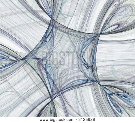 High Resolution Pentagon Design for Print or Web in White poster