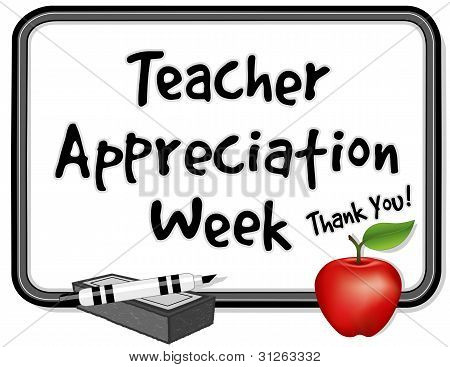 National Teacher Appreciation Woche