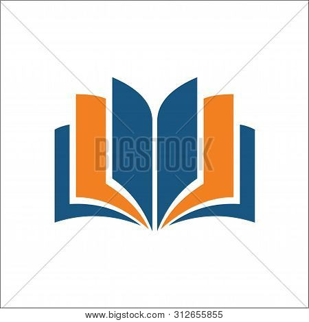 Open Book Icon. Simple Illustration Of Open Book Vector Icon For Web - Education Icon