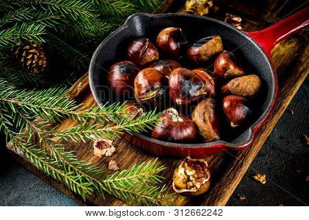 Cracked Roasted Chestnuts