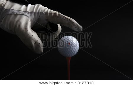 Golf Ball  Hand